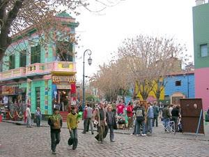 Caminito de La Boca, em Buenos Aires, Argentina (Foto: Sitio oficial de turismo. Gobierno de la Ciudad de Buenos Aires www.bue.gob.ar)