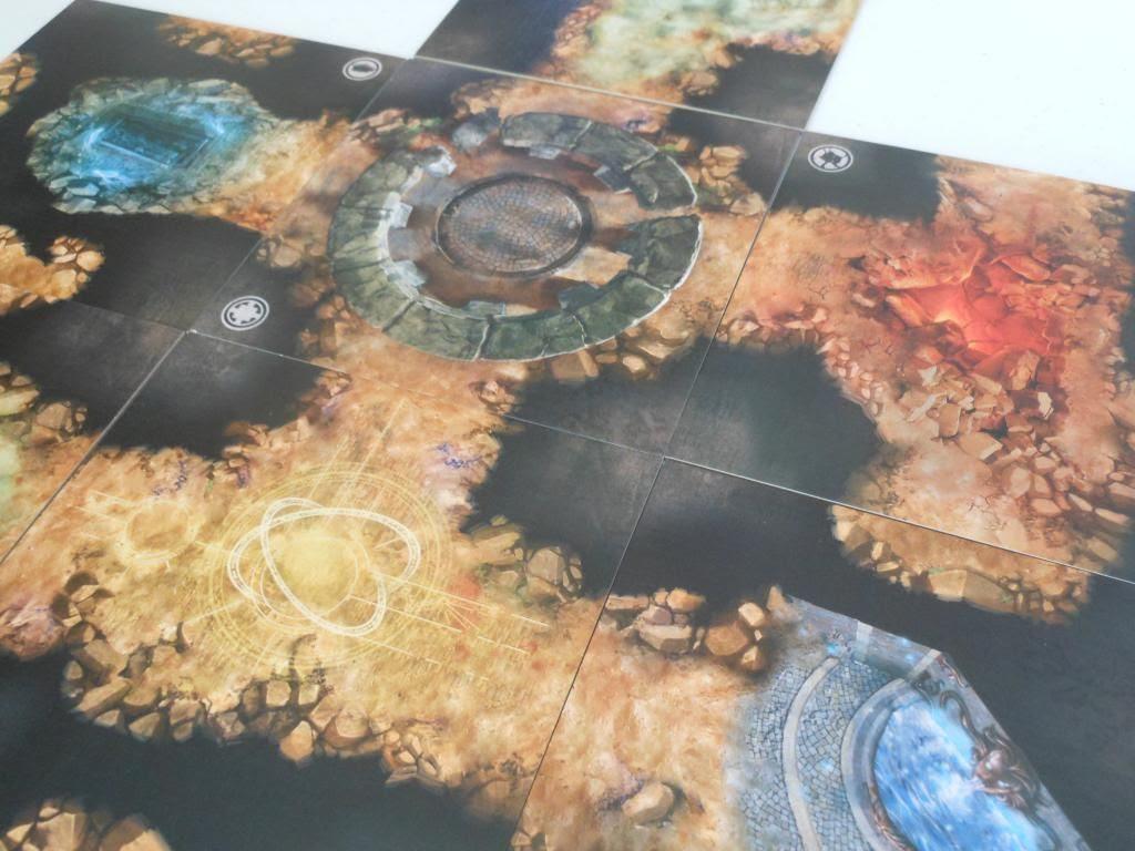 Claustrophobia map tiles