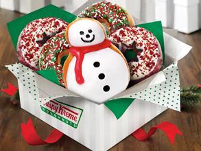 Krispy Kreme Holiday Doughnut FREE Krispy Kreme Holiday Doughnut (Select Locations)