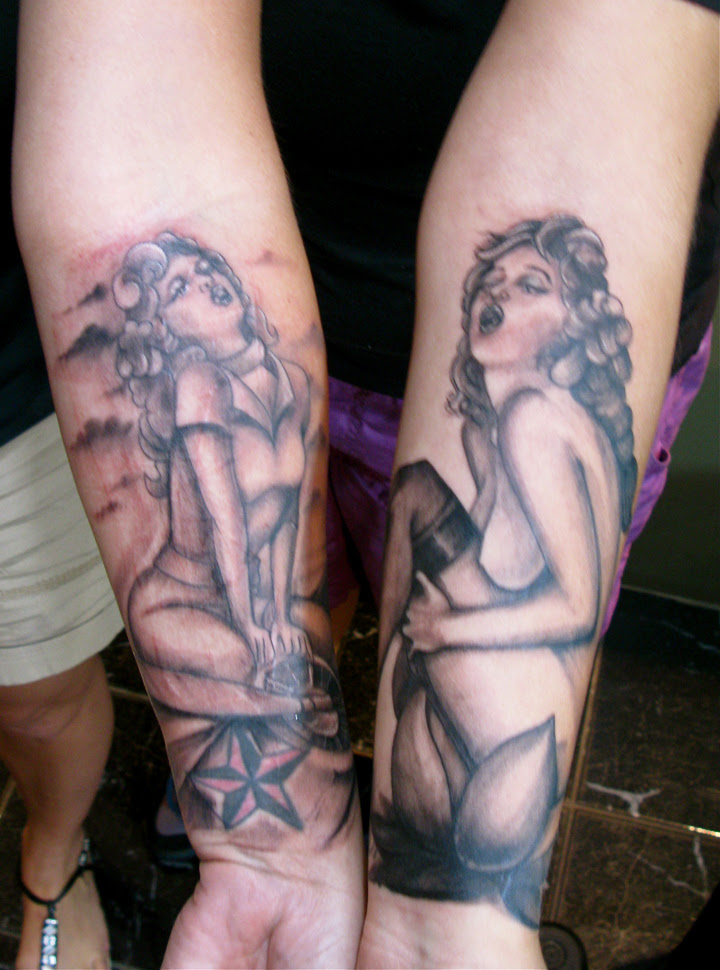 large temporary tattoos brother and sister tattoo ideas