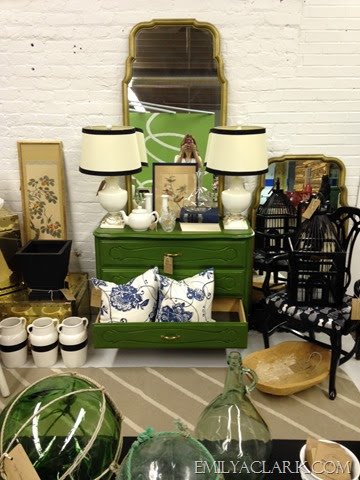 antique mall booth - Kitchen - Pinterest