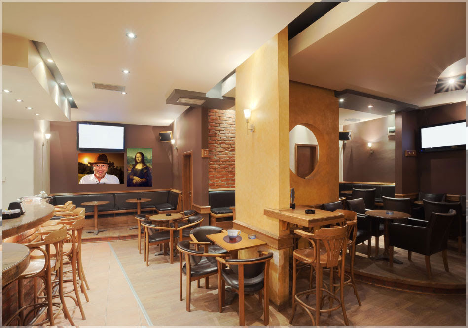 Design Interior Cafe Sederhana Design Bild