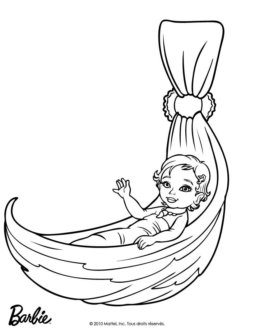 BABY MERLIAH Ausmalbild