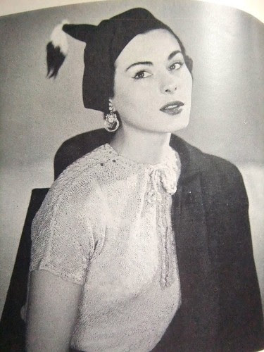 Tinsel Hat Lady