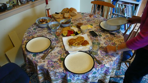 Easter Lunch Spread