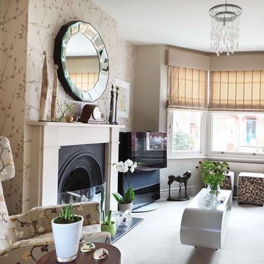 Wallpaper Ideas for Living Room   Ideas for Home Garden ...