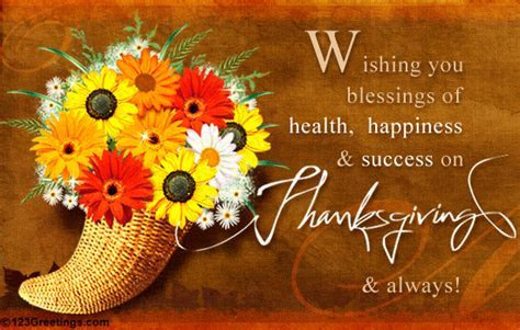 Wishing You Blessings Of Health, Happiness And Success On