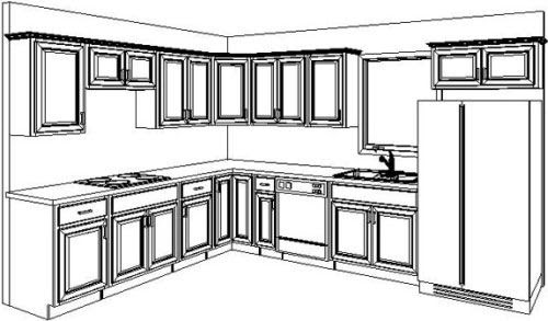 Cabinet Detail Drawing   Free download on ClipArtMag