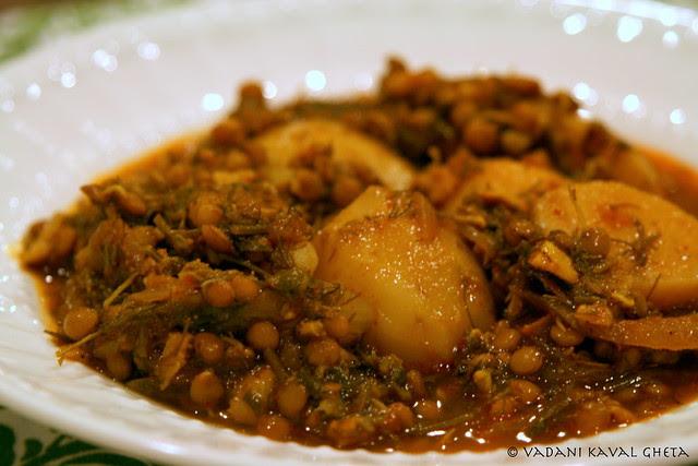 aloo Banjara in a dish