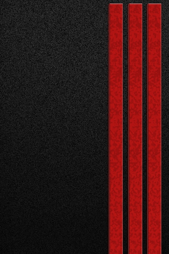 Red and Black iPhone