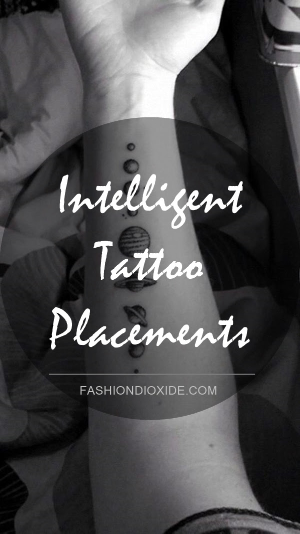 10 Intelligent Tattoo Placements Know What They Say About You