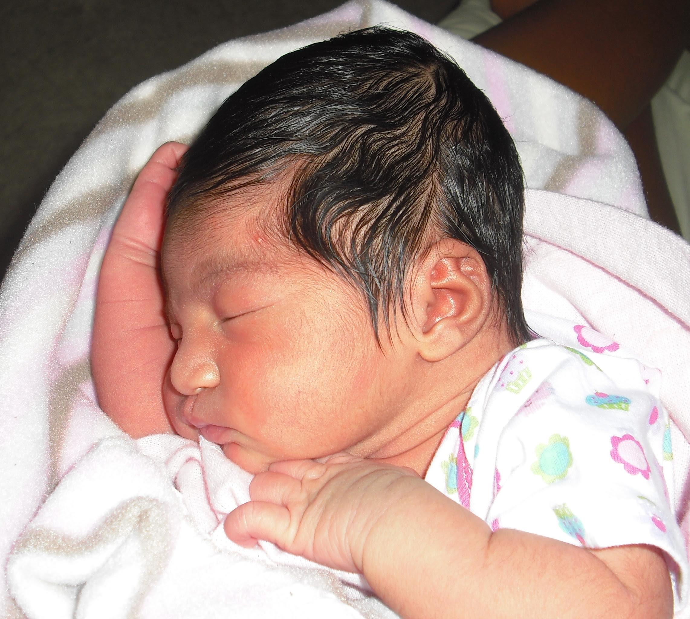 Newborn Cute Black Baby Girls Newborn Baby