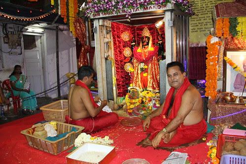 Kali Mata Temple At Bengal Club Shivaji Park by firoze shakir photographerno1