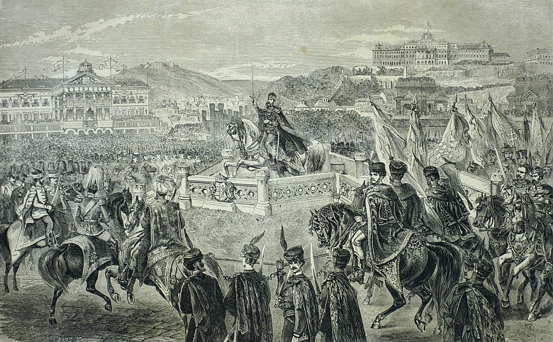 Image result for Coronation of Francis Joseph 1867