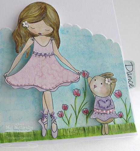 Jolinne Sweet Spring MFT mel stampz