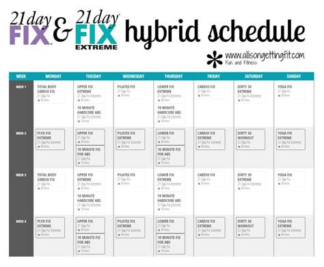 day fix   day fix extreme hybrid workouts