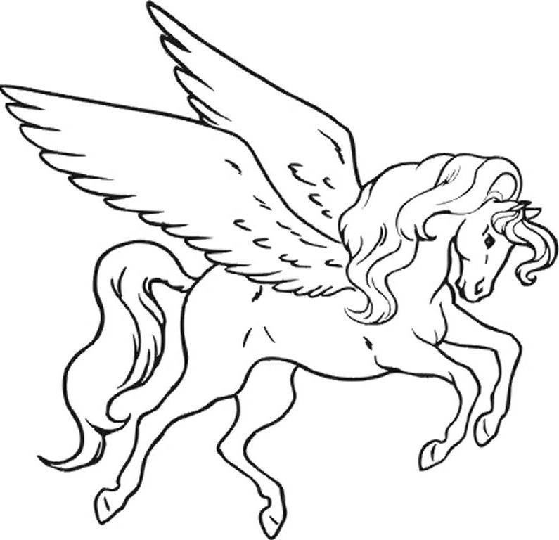 73 Top Printable Unicorn Coloring Pages Pdf For Free