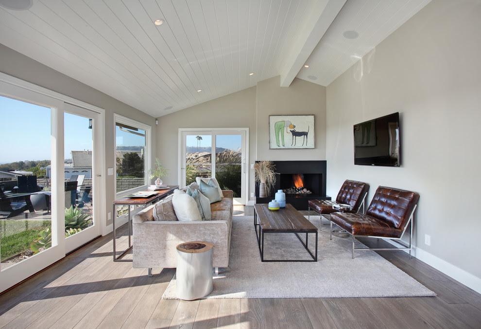 14 inspirations of grey hardwood floors - Interior Design ...