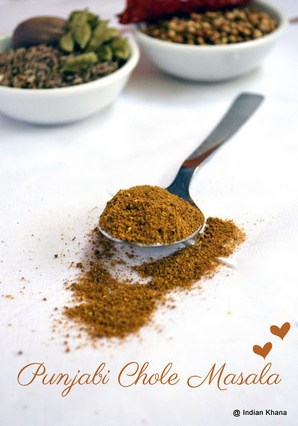 Punjabi Chole Masala Powder Recipe