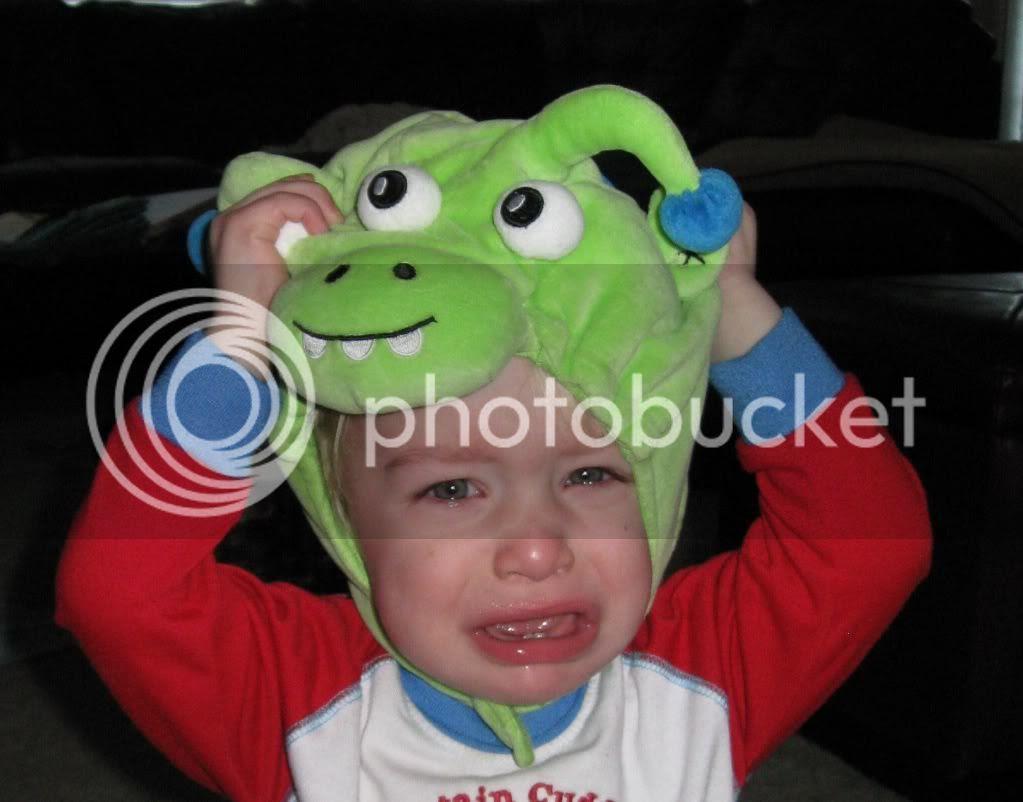 monster Halloween costume