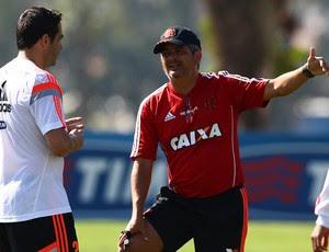 Ney Franco chicão comanda treino do Flamengo (Foto: Divulgação/Flamengo)