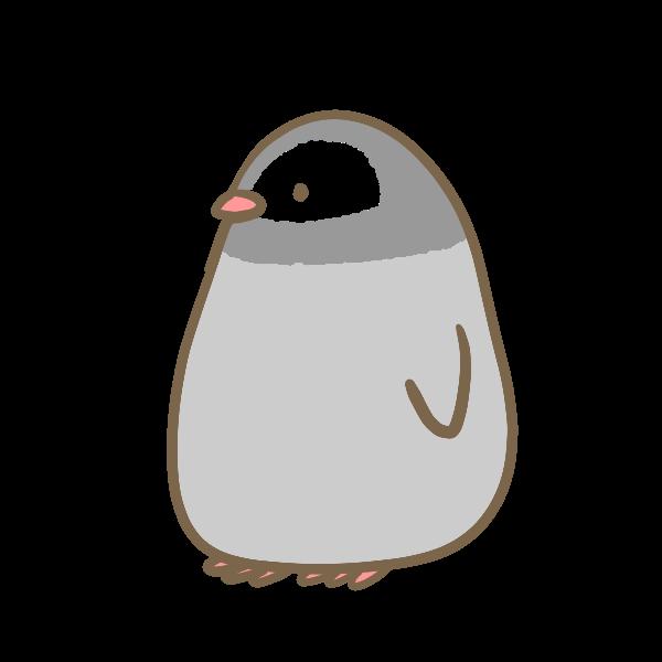 コウテイペンギンの赤ちゃんのイラスト かわいいフリー素材が無料の