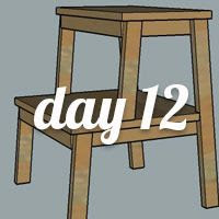 DIY Nightstand Day 12