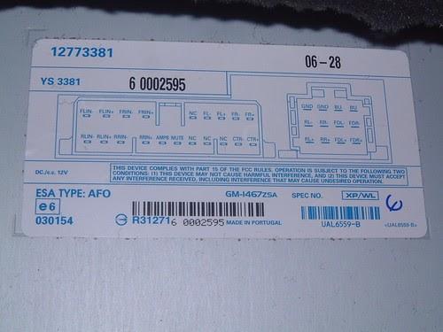 2005 Saab 9 3 Stereo Wiring Diagram