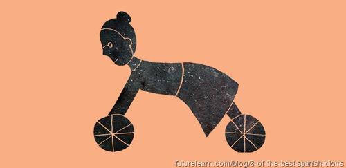 si mi abuela tuviera ruedas sería una bicicleta