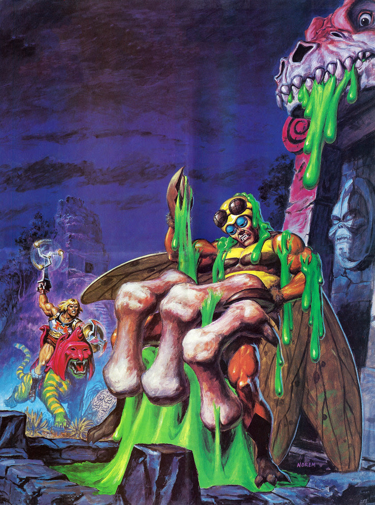 Masters Of The Universe - 12 (painting by Earl Norem)