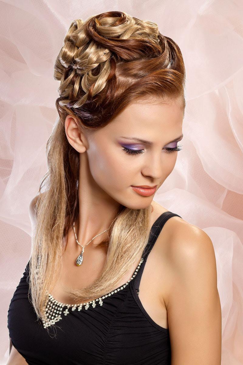 Festliche Frisur Festliche Frisur F R Mittellanges Haar Seitlich