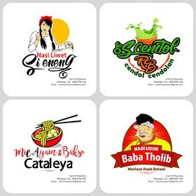 Contoh Spanduk Jualan Mie Ayam - desain banner kekinian