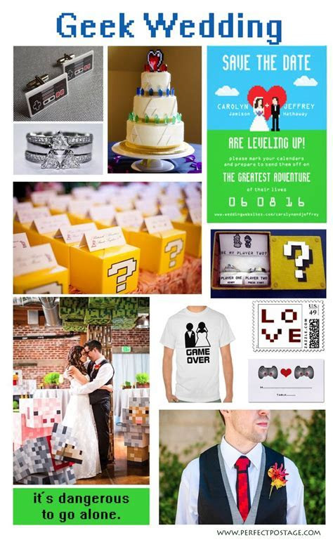 25  best ideas about Video game wedding on Pinterest