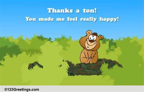 Thanks A Ton! Free Congratulations eCards, Greeting Cards