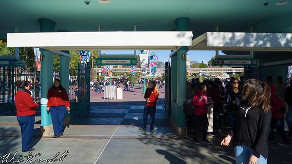 Disneyland Resort, Disney California Adventure, Exit, Buena Vista Street