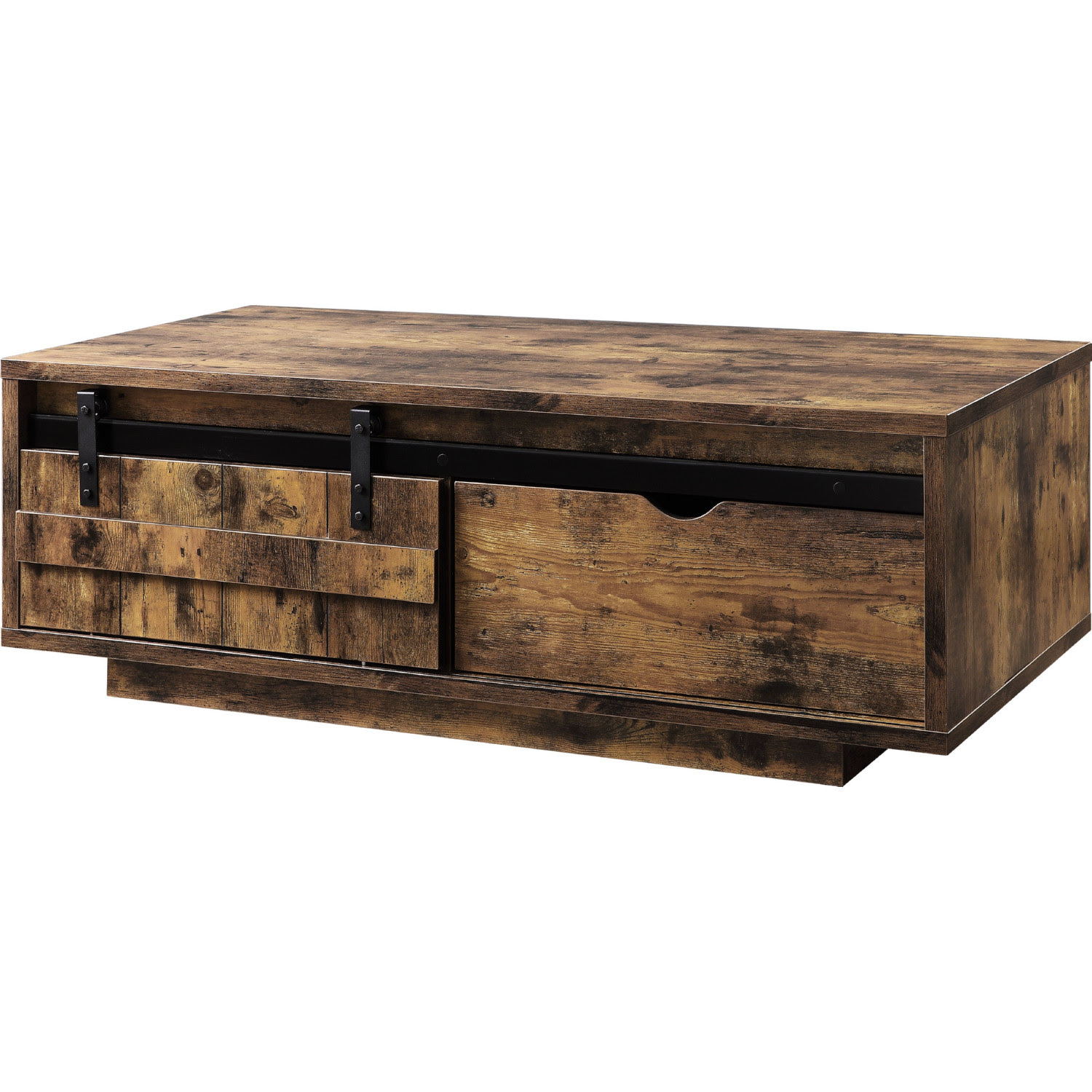 Acme 88040 Bellarosa Coffee Table In Rustic Oak