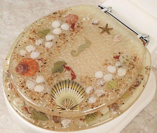Seashells Toilet Seats