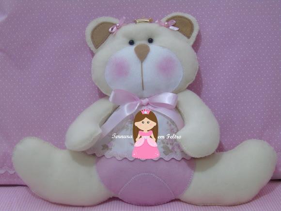 Ursa Princesa decorativa