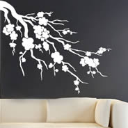 decorative wall stickers Cherry Blossom wall decals