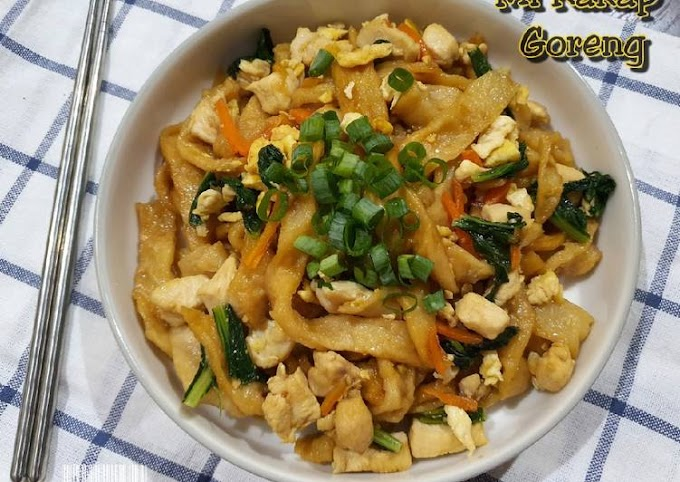 Resep Membuat Mi Kakap Goreng Anti Gagal