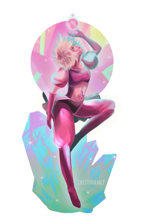 Pink Diamond…..but we still don't know how her bottom half looks !!