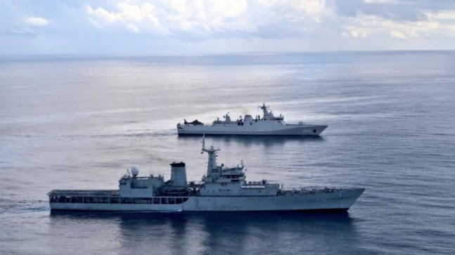 Indian and Indonesian navies carry out military drill in southern Arabian Sea https://ift.tt/3hdh7gY