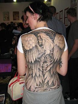 Angel Devil Tattoos on Angel Tattoos