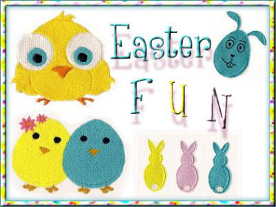 Easter Fun Embroidery Designs