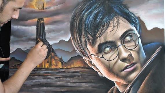 Dibujos De Harry Potter A Color