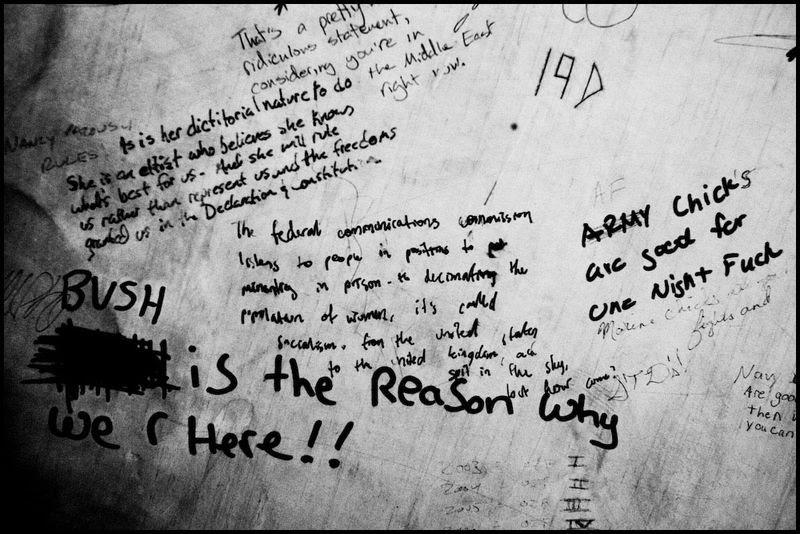 Zoriah_bush_george_g_w_president_iraq_irak_grafitti_war_conflict_latrine_bathroom_wc_toilette_07_09_08_G6Y7214