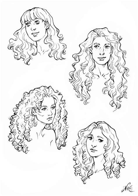 curly hair references  nikemv   curly hair