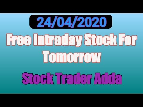 Best intraday trading stock For 24 APR 2020 | Intraday trading strategie...
