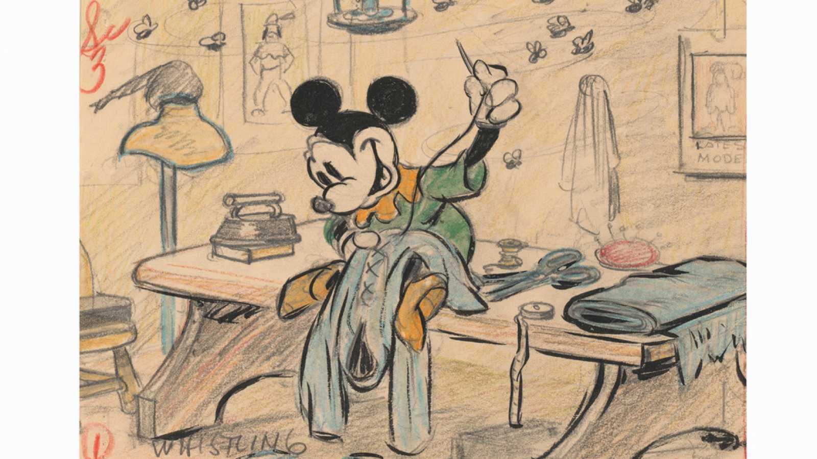 La Magia De Los Cuentos De Disney En Una Exposición En Madrid Rtvees