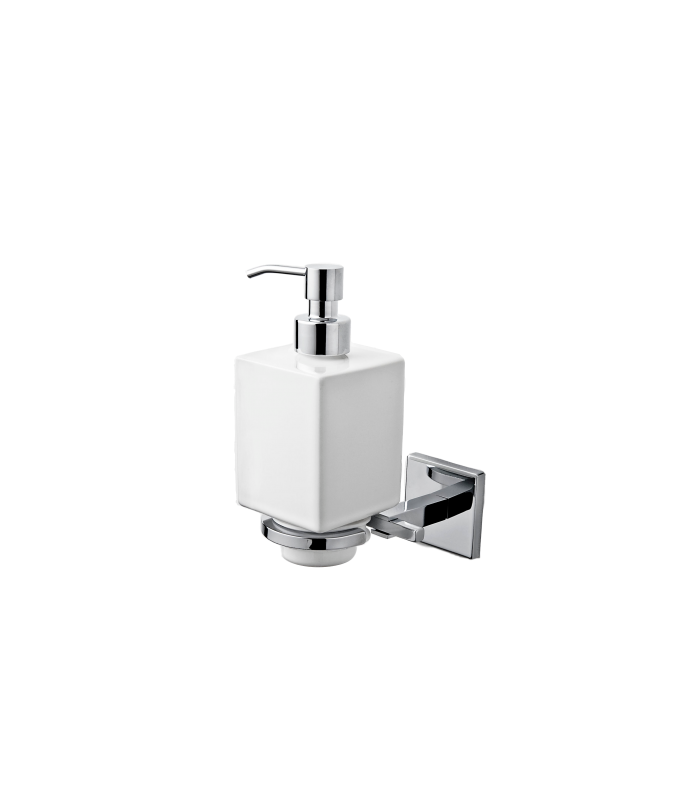 Wall Mounted Ceramic Soap Dispenser Holder Plano Ism